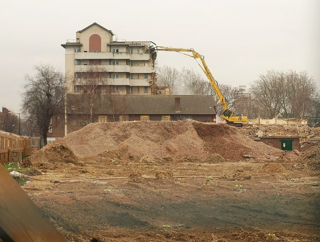 Demolition on Shandy Street