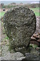 SW3724 : Cross at Trebehor by Elizabeth Scott