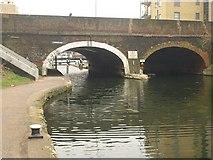 TQ3681 : Commercial Road Bridge by Derek Harper