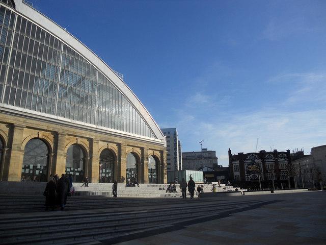 Lime Street railway station