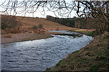 NJ6960 : River Deveron by Anne Burgess
