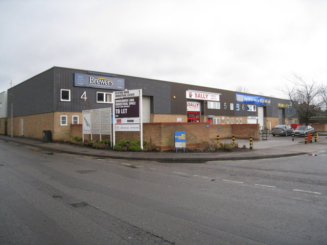 Clifton Road industrial units