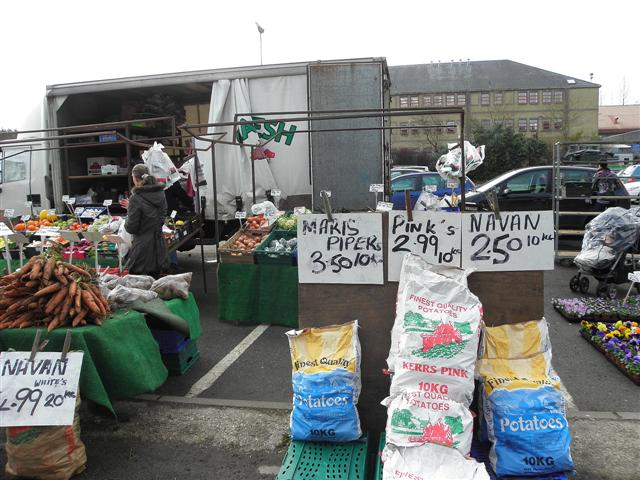 Spuds for sale, Omagh