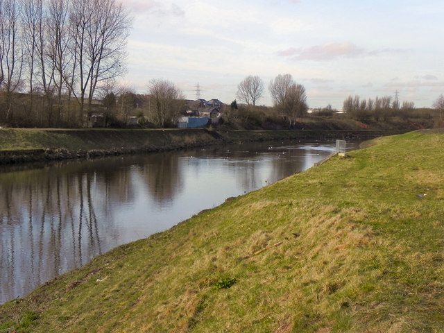 River Irwell, Lower Kersal