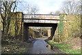 SK4963 : Former Railway Bridges by Ashley Dace