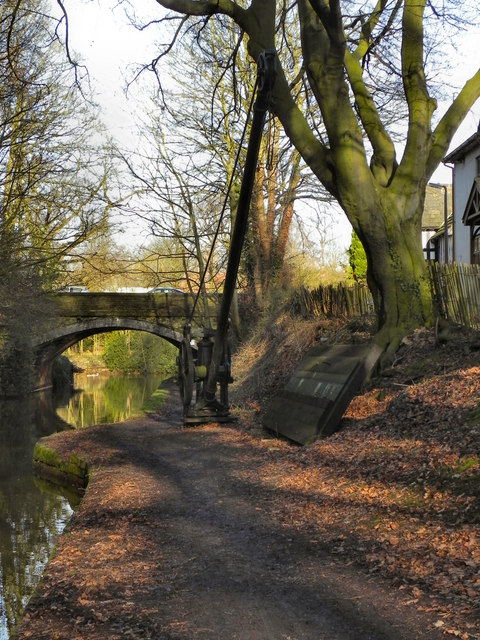 Bridgewater Canal, Crane