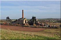 SK4964 : Pleasley Colliery by Ashley Dace