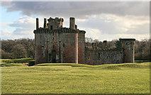 NY0265 : Caerlaverock Castle by Peter McDermott