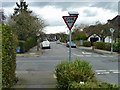 TQ3868 : Whitecroft Way intersects Hayes Way by Robin Webster