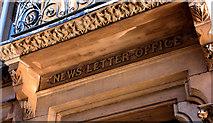 """J3374 : Former """"News Letter"""" offices, Belfast (4) by Albert Bridge"""