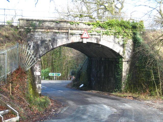 Railway bridge at Drift Wood
