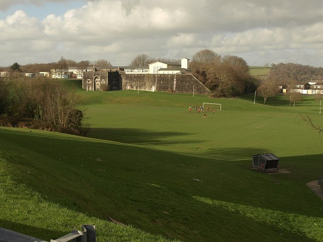 Football pitch, West Park