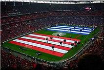 TQ1985 : Wembley Stadium, 27 February 2011 by Julian Osley