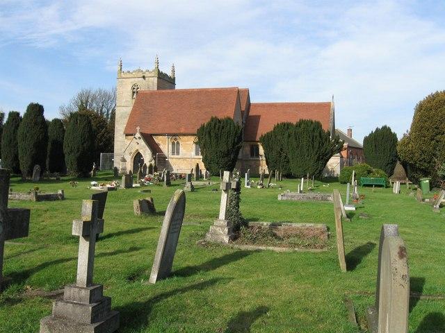 All Saints' Church,  Coddington, Nottinghamshire