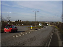 SK8939 : Roundabout on the A1174 by Anthony Vosper