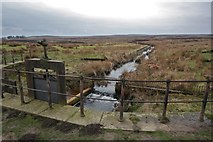 SE1443 : Reva Reservoir Catchment, Hawksworth Moor by Richard Kay