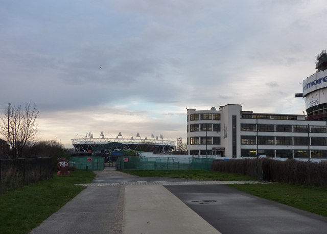 2012 Olympic Stadium and ArcelorMittal Orbit Tower