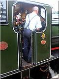 TQ8833 : K&ESR Locomotive Driver by Helmut Zozmann