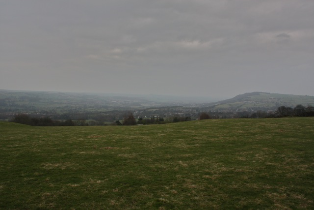View of Menston across Wharfedale