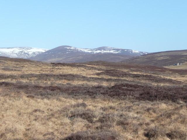 South eastern slopes of Carn nan Seabhag