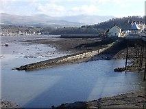 SH5873 : Garth Jetty (low tide), Bangor by Meirion