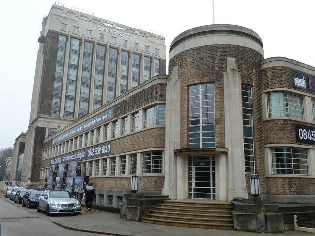 Barratt building, formerly Wallis House, Great West Road, Brentford