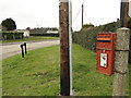 TF7218 : G VI R postbox at the junction of St Nicholas Close and Back Street by Adrian S Pye