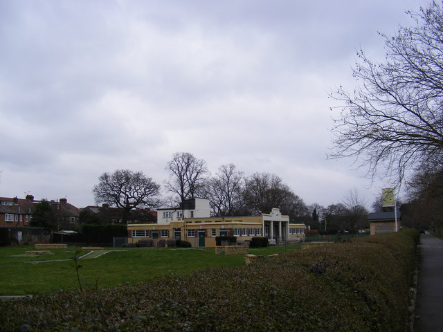 Pavilion at Sir Joseph Hood Memorial Playing Field