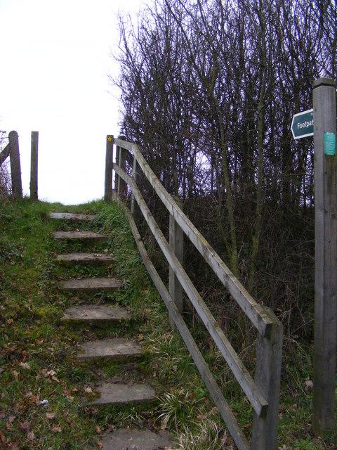 Footpath to Deadman's Lane