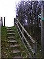 TM3763 : Footpath to Deadman's Lane by Geographer