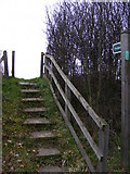 TM3763 : Footpath to Deadman's Lane by Adrian Cable