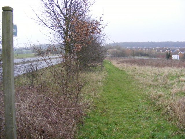 Footpath to the B1119 Rendham Road