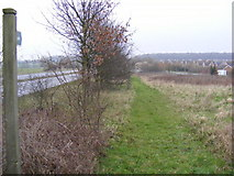 TM3763 : Footpath to the B1119 Rendham Road by Adrian Cable