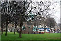 NT2473 : Albert Memorial, Charlotte Square by N Chadwick