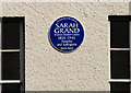 J5979 : Sarah Grand plaque, Donaghadee by Albert Bridge
