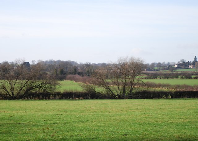 Farmland behind Ladford Fields