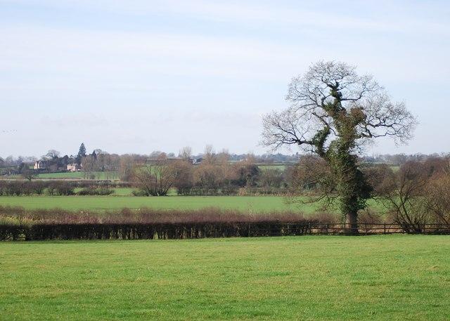 Ellenhall village