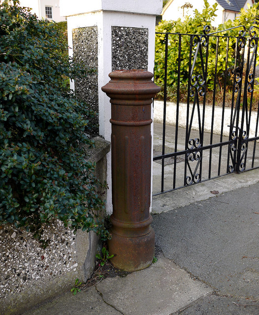 Sewer vent pipe, Newtownards