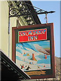 TQ4210 : Snowdrop Inn sign by Oast House Archive