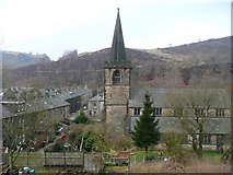 SD9126 : Church of St Michael and All Angels, Vale, Cornholme, Todmorden by Humphrey Bolton