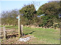 TM2650 : Footpath to Boulge Road by Geographer