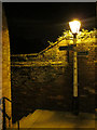 TQ8209 : Lamppost on Tamerisk Steps by Oast House Archive