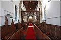 TL3844 : All Saints, Melbourn - West end by John Salmon