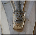 TL3344 : St Peter & St Paul, Bassingbourn - Corbel by John Salmon