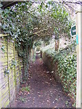 TM3863 : Footpath to Clay Hills by Geographer