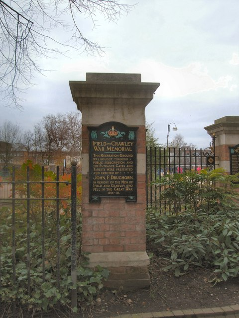 Crawley & Ifield War Memorial