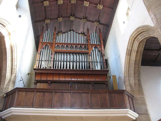 St John's church: organ