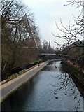 TQ2783 : Regent's Canal at London Zoo by Graham Hogg