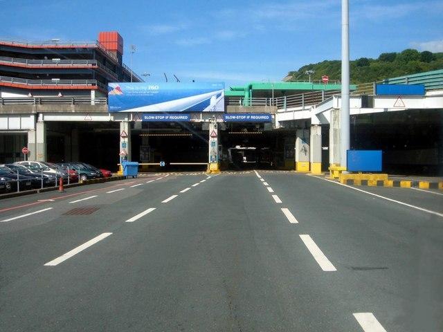 Port of Dover, Eastern Docks, Customs Control