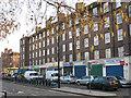 TQ3279 : Shops on Harper Road by Stephen Craven
